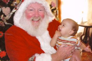 Father Christmas and Noa
